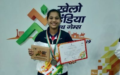 Diya Chitale's sterling performance in Khelo India Youth Games 2019
