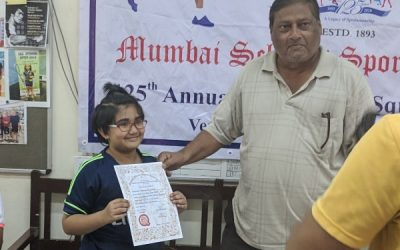 Aakanksha shines in MSSA Squash Tournament, AVM , Juhu
