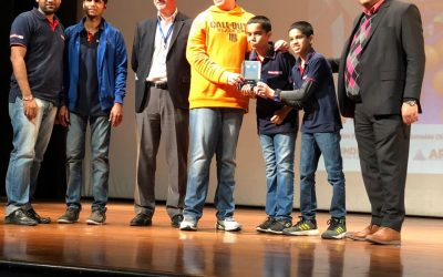 Winners of VEX IQ CHALLENGE, ROBOTICS COMPETITION NATIONAL CHAPTER