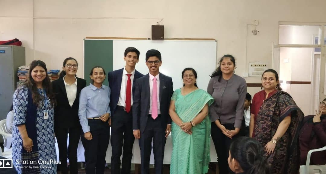 1st MUN Conference of AVM-Juhu