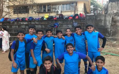 U/12 Boys Football Team win their Knockout Match