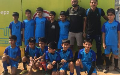 U/10 Boys Football Team Qualifies for Quarter Finals