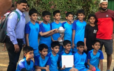U/10 Boys Football Team wins MSSA Trophy!