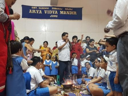 AVM Juhu, Playschool Havan 2019-20.