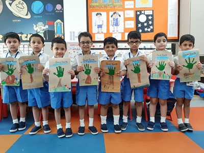 Good planets are hard to find.. Let's work together to save the Mother Earth – Learners of Pre-Primary celebrate Earth Day