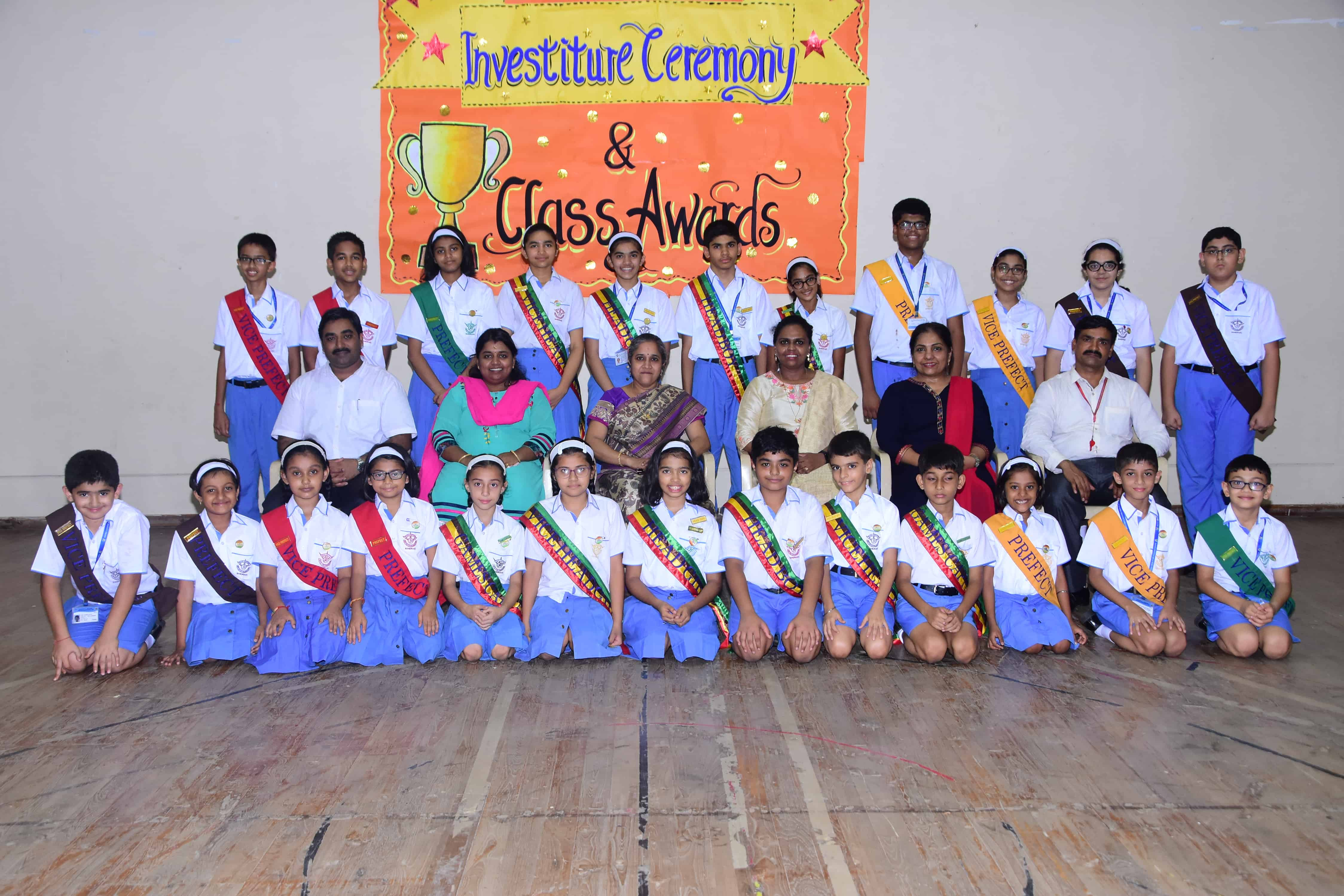 Investiture Ceremony and Class Awards 2019