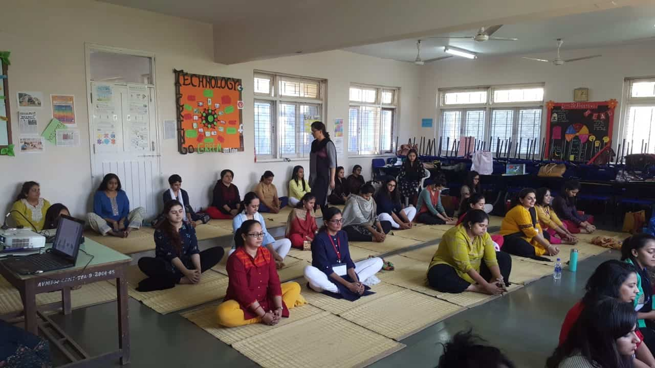 ECE Yoga Session