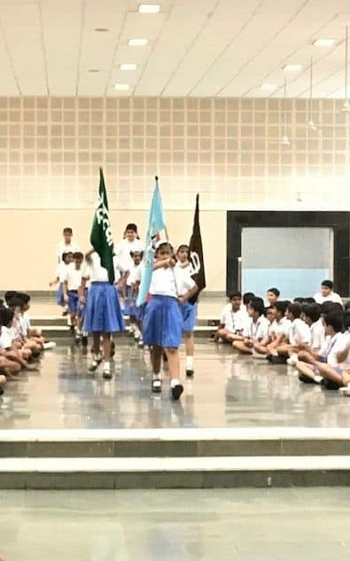 Investiture Ceremony- Primary Section