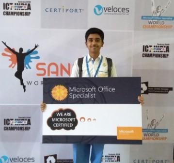 Rohan Shenoy- MS Office Specialist of AVM Juhu