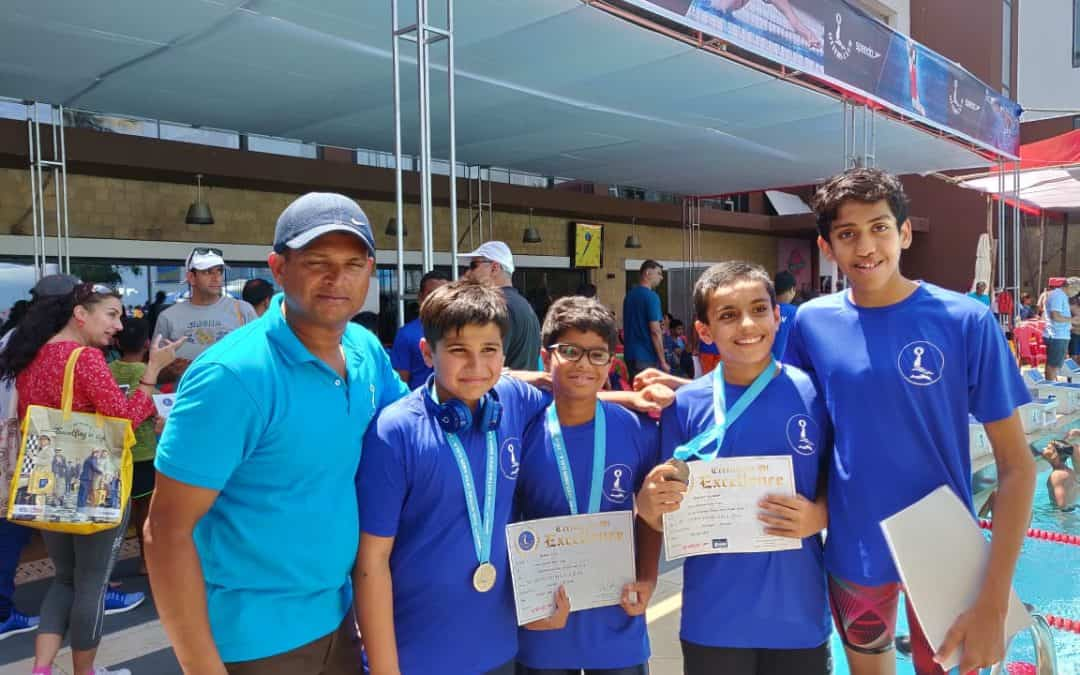 Incredible Swimming Feats by AVM Bandra West Students!!!