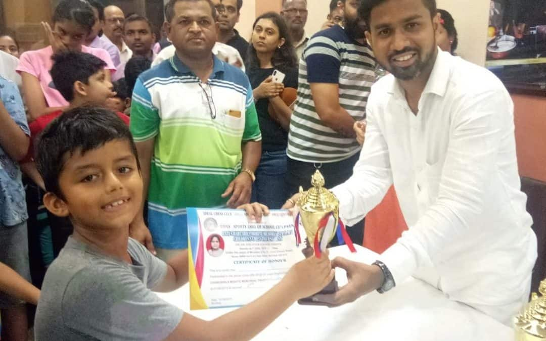 Our Chess Champ- Hriday Maniar