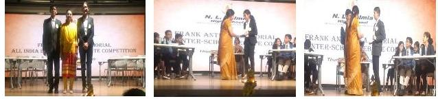 Runners-up position secured by AVM Bandra West at the Preliminary round of the Frank Anthony Debate