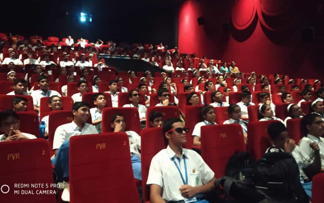 Screening of 'The Lion King' for the students of AVM Juhu