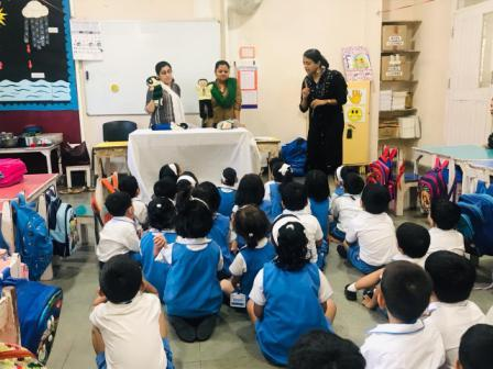 Safe and Unsafe Touch awareness by the AYM Team – AVM Juhu
