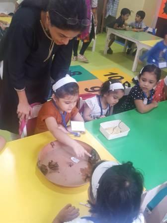 Rainy Creatures visit Playschool @ AVM Juhu.