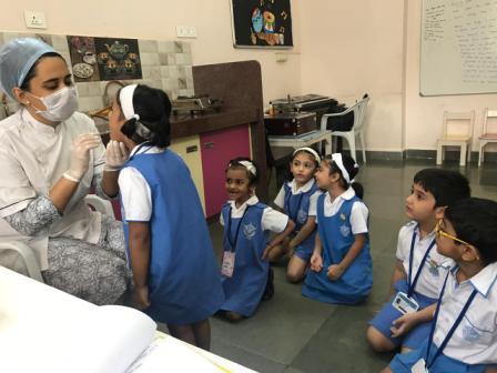 Dental Check up for Pre-Primary children @AVM Juhu