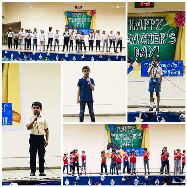 Teacher's Day Special Assembly- Primary Section