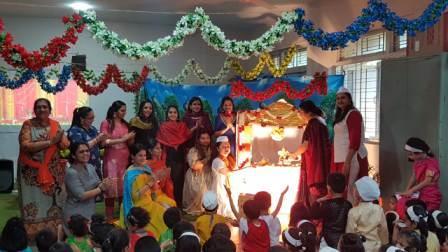 Eco-Friendly Ganesh Festival Celebration – Pre -Primary @ AVM, Juhu.