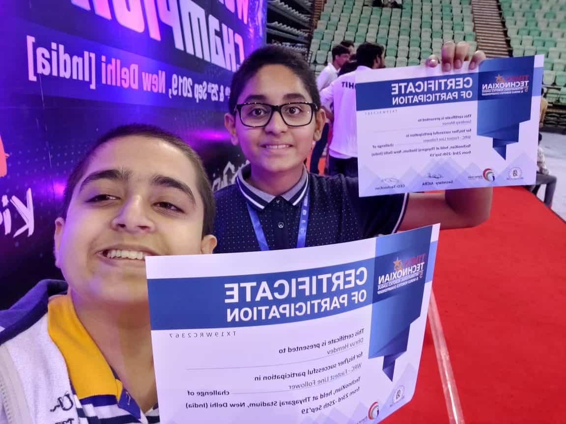 The Tech Prodigies of AVM BW crack the code at the Robotics Championship!