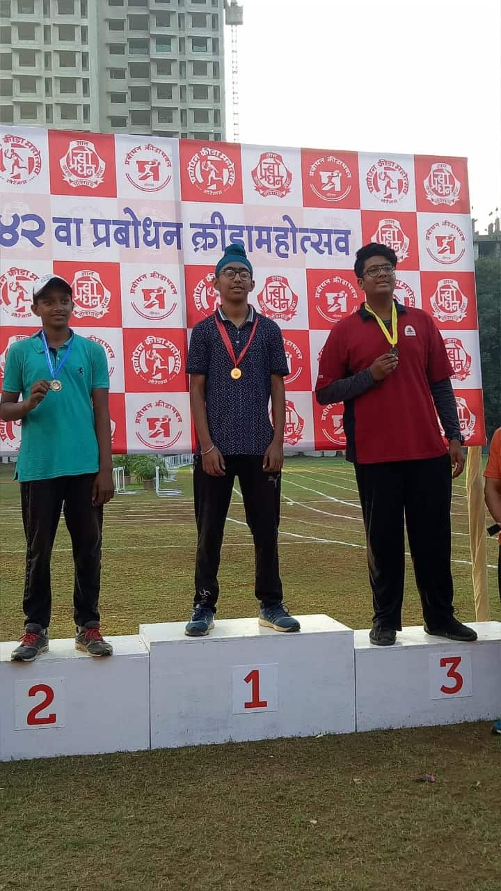 Gold Medals all the way for Gurjeev of AVM BW!!!