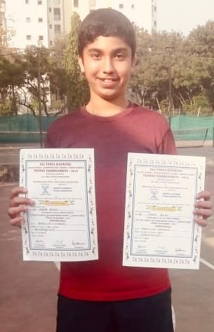 Master Hunar Bedi inches close to the Finals at the All India Ranking Championship Series (7) Tournament