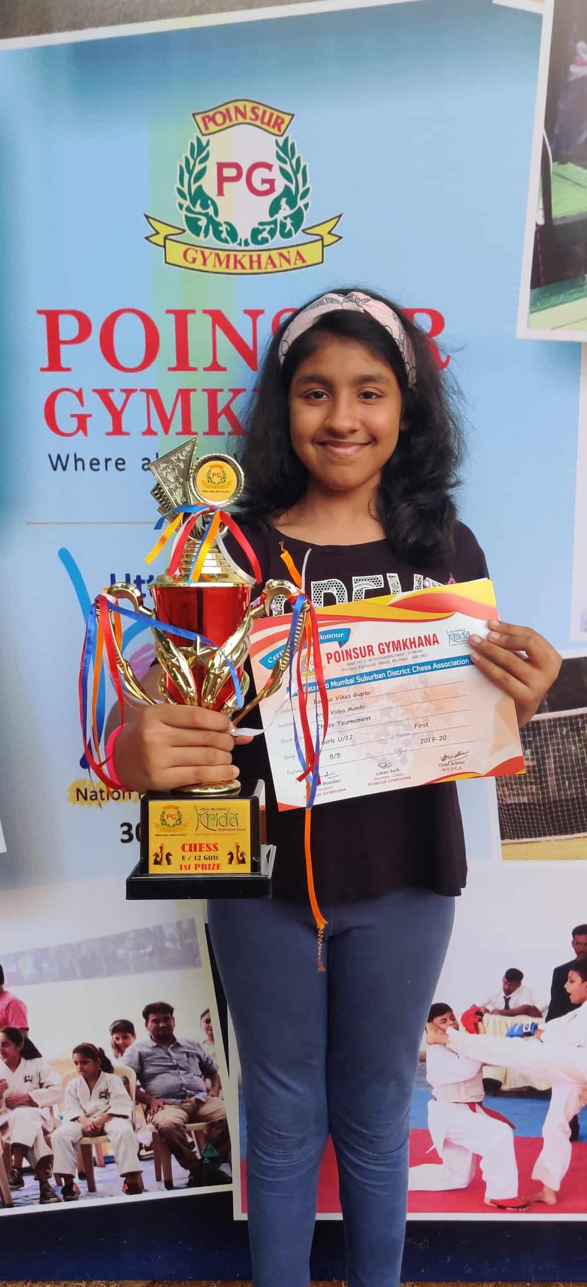The promising Chess player of AVM Bandra West !!