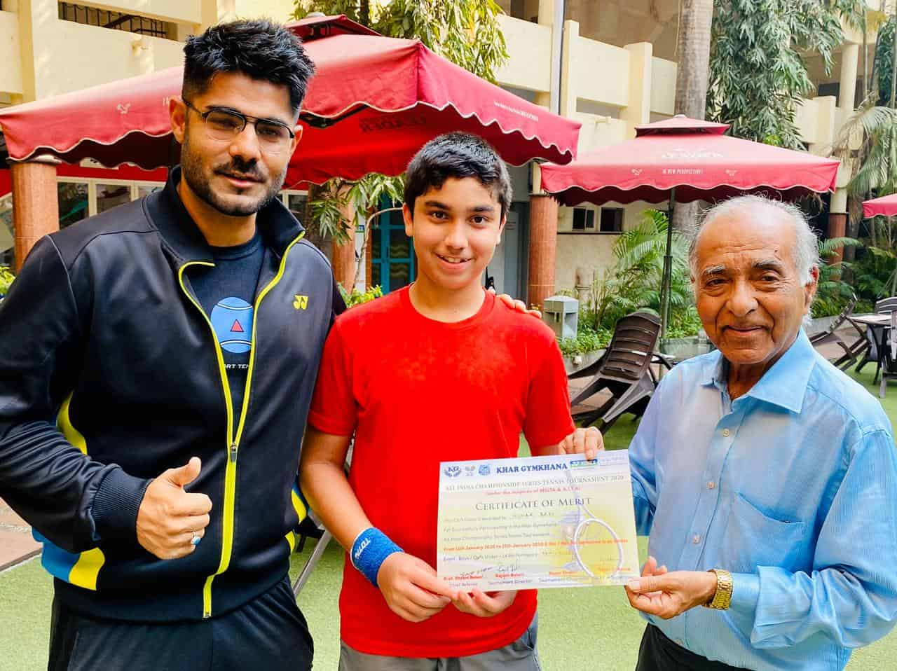 Master Hunar Bedi reaches the TOP 4 in an All India Level Tournament!
