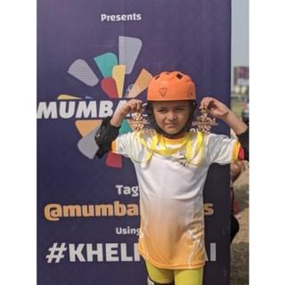 Skating medals for Jenika and Advay – AVM, Juhu