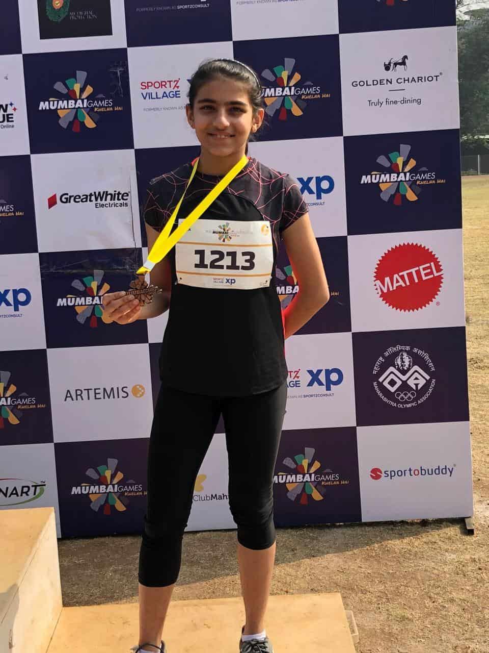 Miss Namrata Makhijani bags a Bronze!