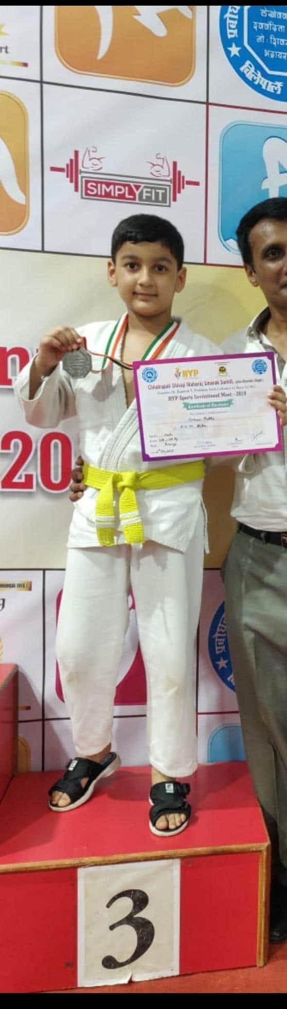Double Judo bronzes for Evaan Rathi – AVM, Juhu