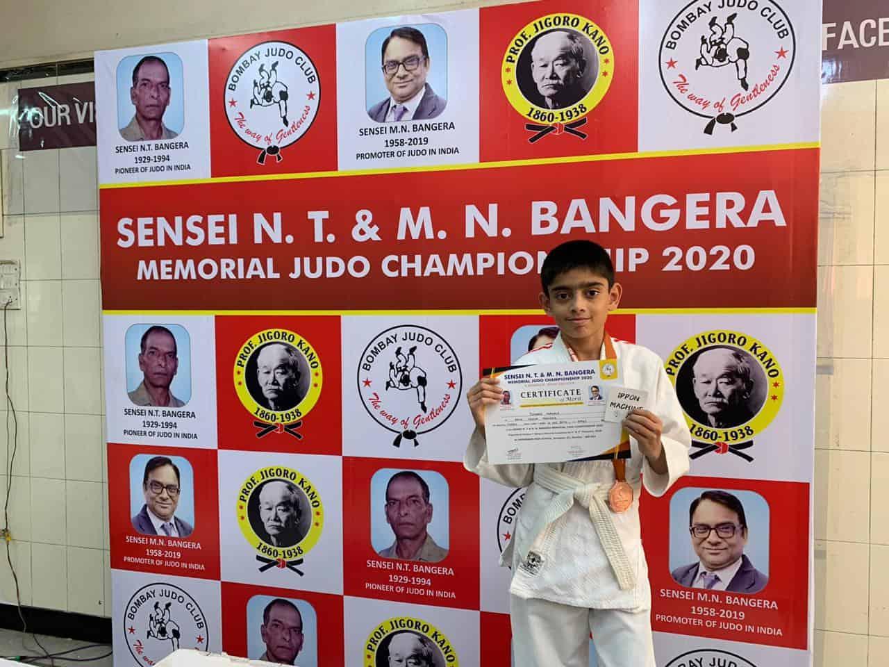 Master Ishaan Mahale wins Bronze!!