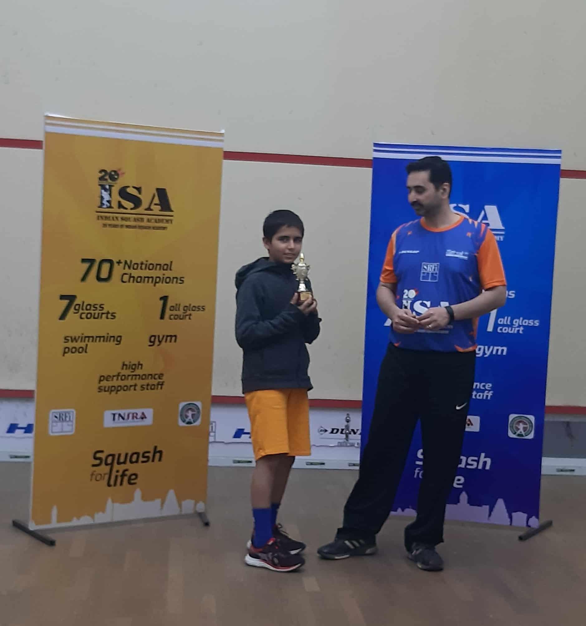 Master Anshuman Jaisingh of AVM Bandra West wins Bronze !!