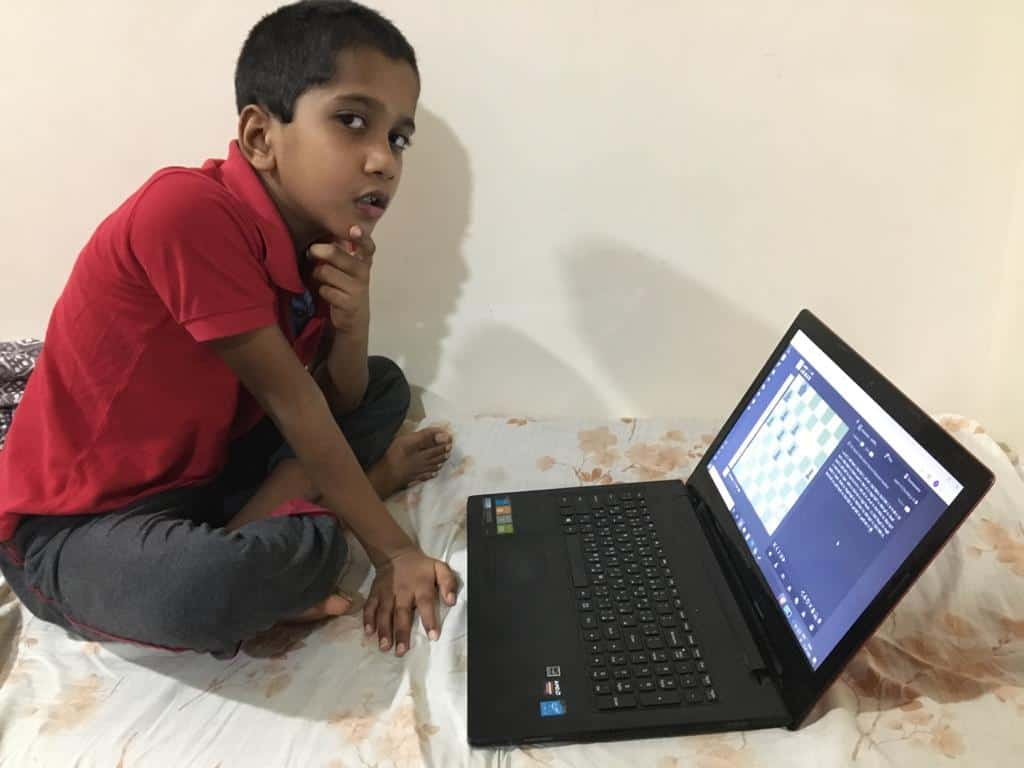 Online chess champ Vageesh's continued winning streak – AVM, Juhu