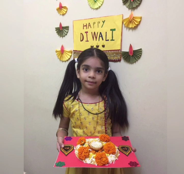 Digital Diwali celebrations – Primary Section – AVM, Juhu